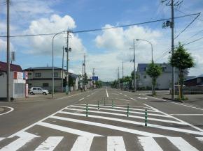 東能代駅前