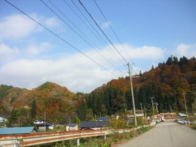 黒沢駅 前