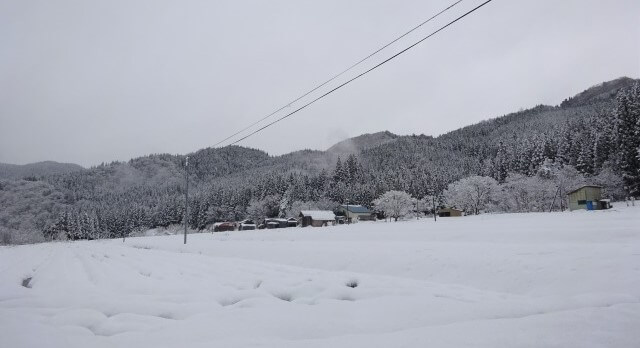 八木沢集落 南5の冬
