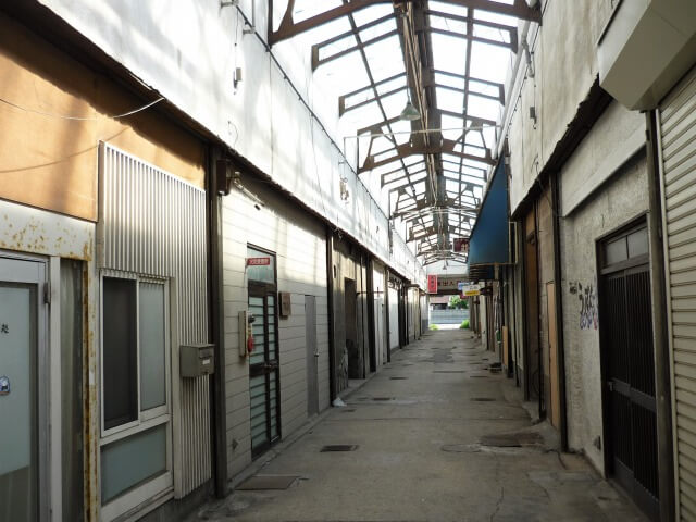 秋田港名店街 解体直前