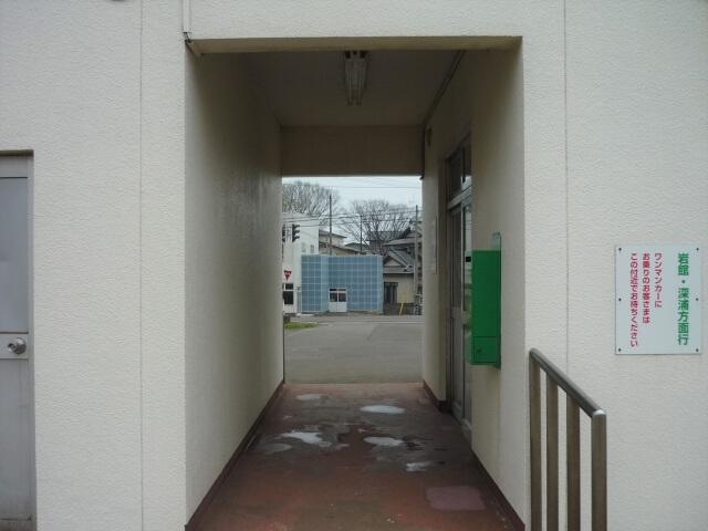 東八森駅 入口