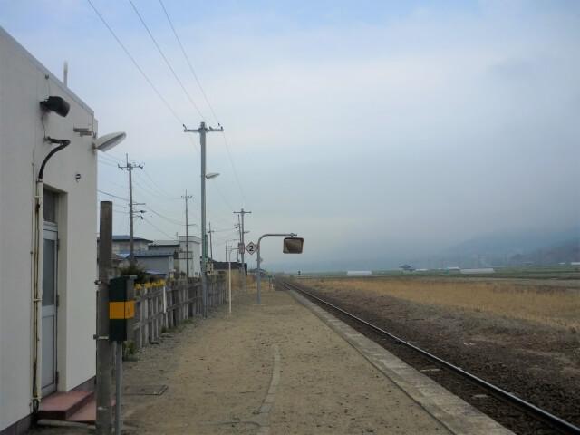 東八森駅 からの風景