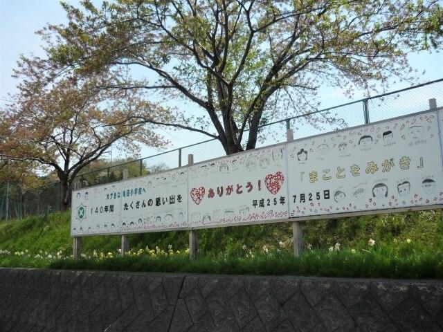 亀田小学校 看板