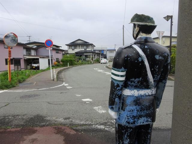 交通安全人形 元木田のいま