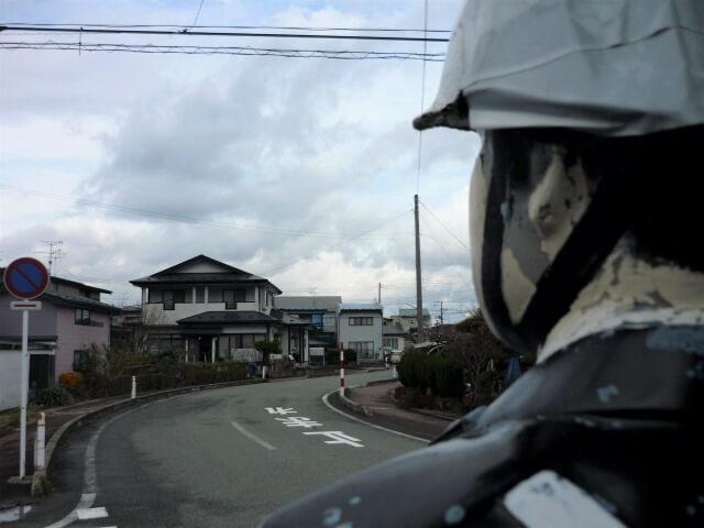 交通安全人形 元木田人形目線
