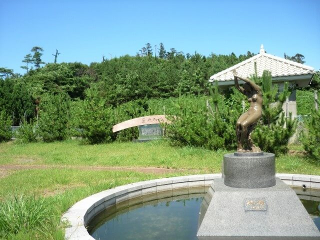 碁石農村公園 正面