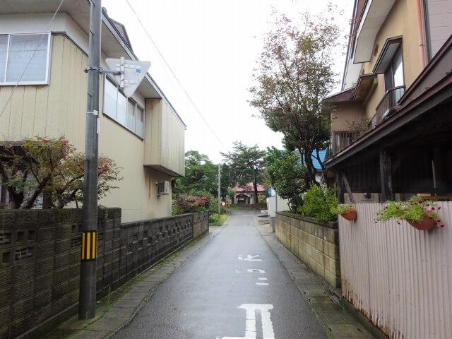 矢島小学校元町分校 入口