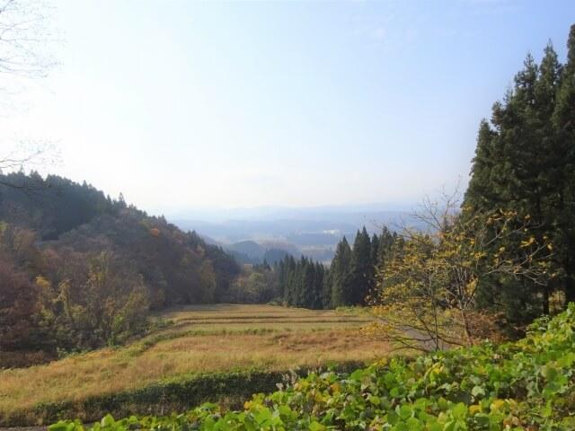 廃村 鳥海町高山 風景
