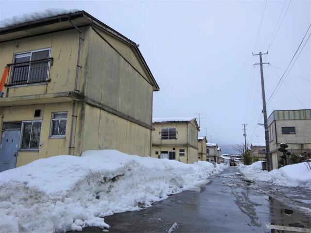 八郎潟町営住宅 全景