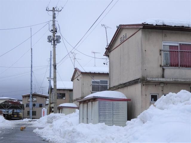 八郎潟町営住宅 内部