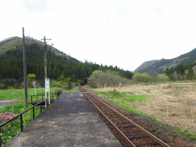 岩野目駅 反対側