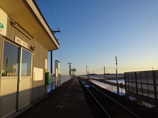 鳥形駅 ホーム