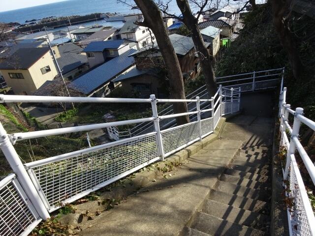 ゆうやけ線 階段
