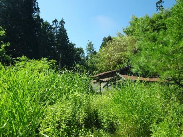 矢島町十二ヶ沢 廃村 廃墟
