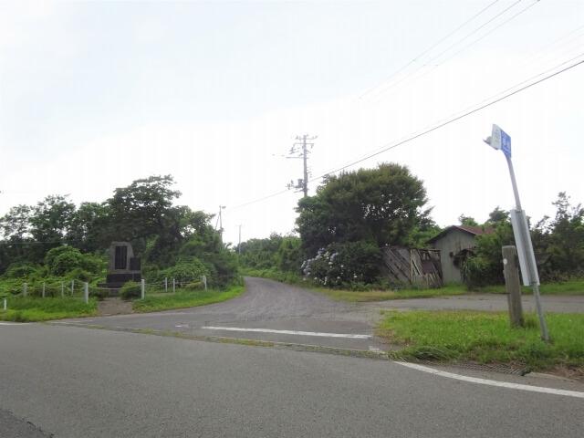 廃村 申川 入口