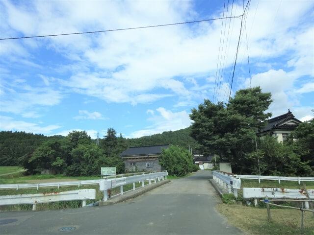廃村 大砂川 入口