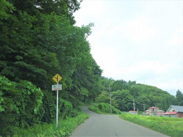 廃村 袖川 入口