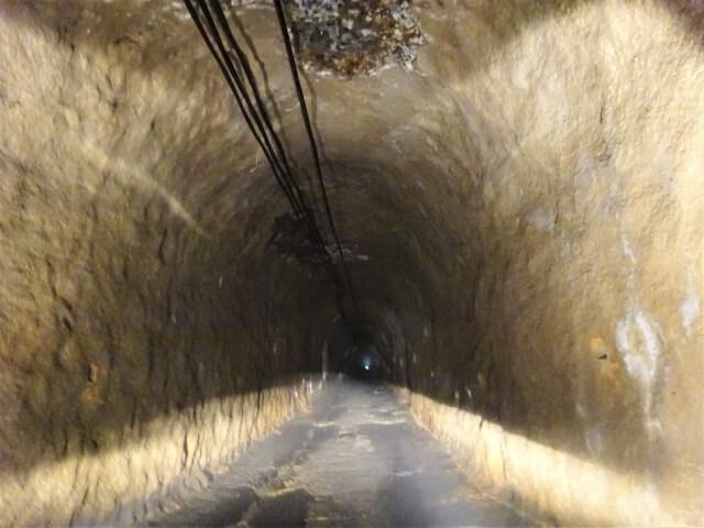 廃村 袖川 第二隧道内部