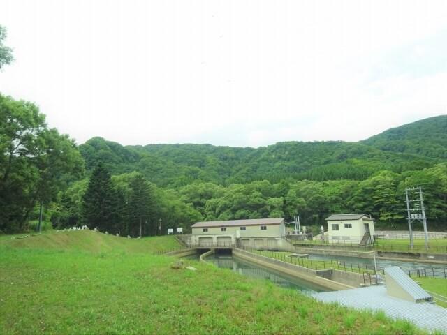 廃村 袖川 発電所