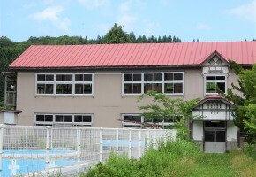 二ツ井町 旧田代小学校 サムネ