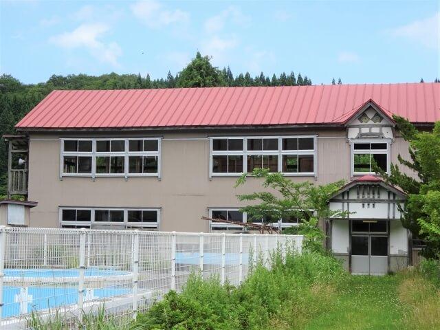 二ツ井町 旧田代小学校 外観