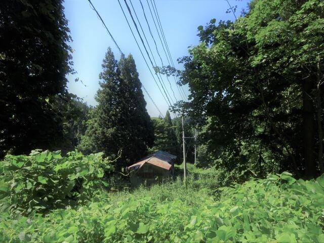 廃村 矢島町軽井沢 外観