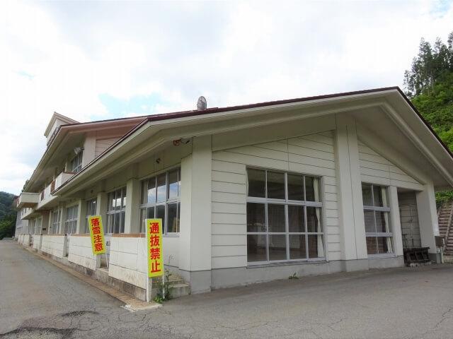 羽後町 田代小学校 全景