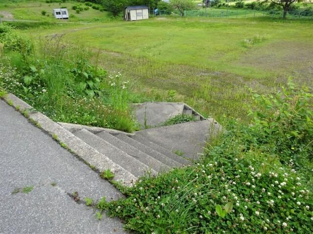 羽後町 田代小学校 階段