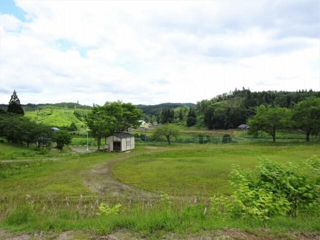 羽後町 田代小学校 グラウンド全景