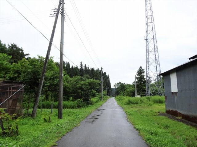 にかほ市観音森 メインストリート