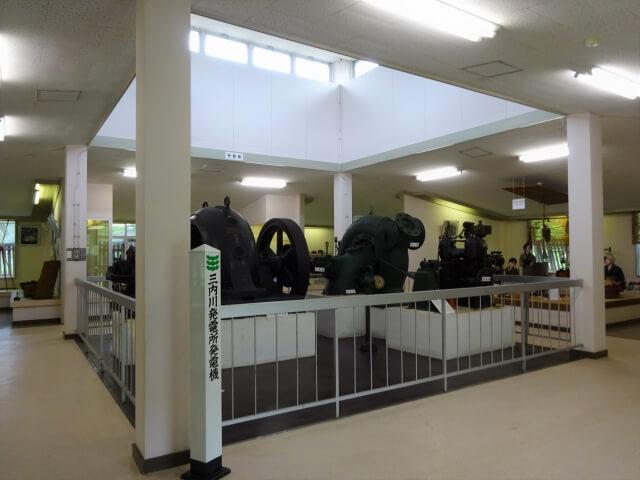 旧河辺農林漁業資料館 内部