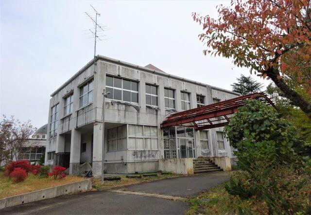 大仙市 旧稲沢小学校 外観