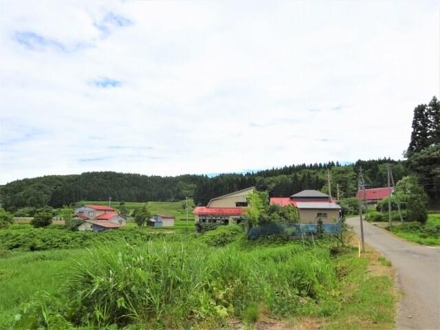 矢島町荒沢地区 熊之子沢