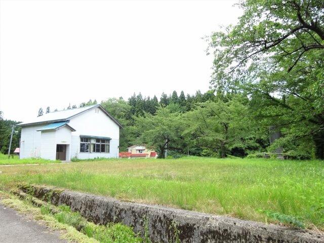 矢島町荒沢地区 熊ノ子沢分校