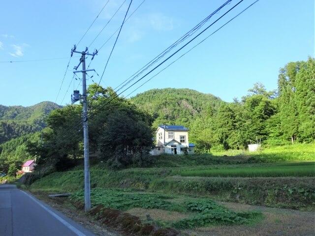 鳥海町立笹子小学校西久米分校 外観