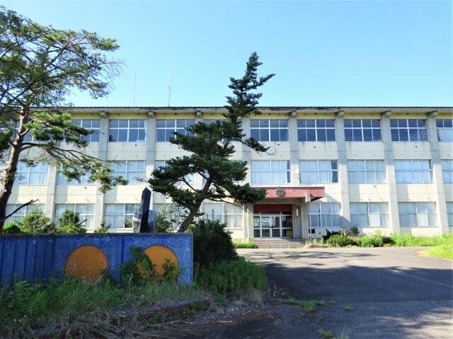 湯沢市立 湯沢北小学校 校門