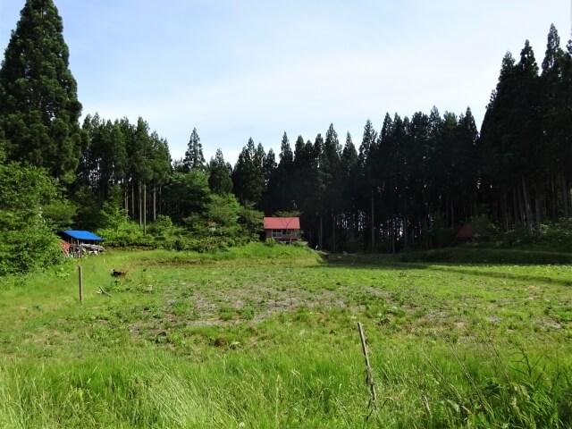 二ツ井町柾山沢 全景