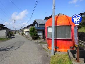 西目線バス停「潟保」 サムネ